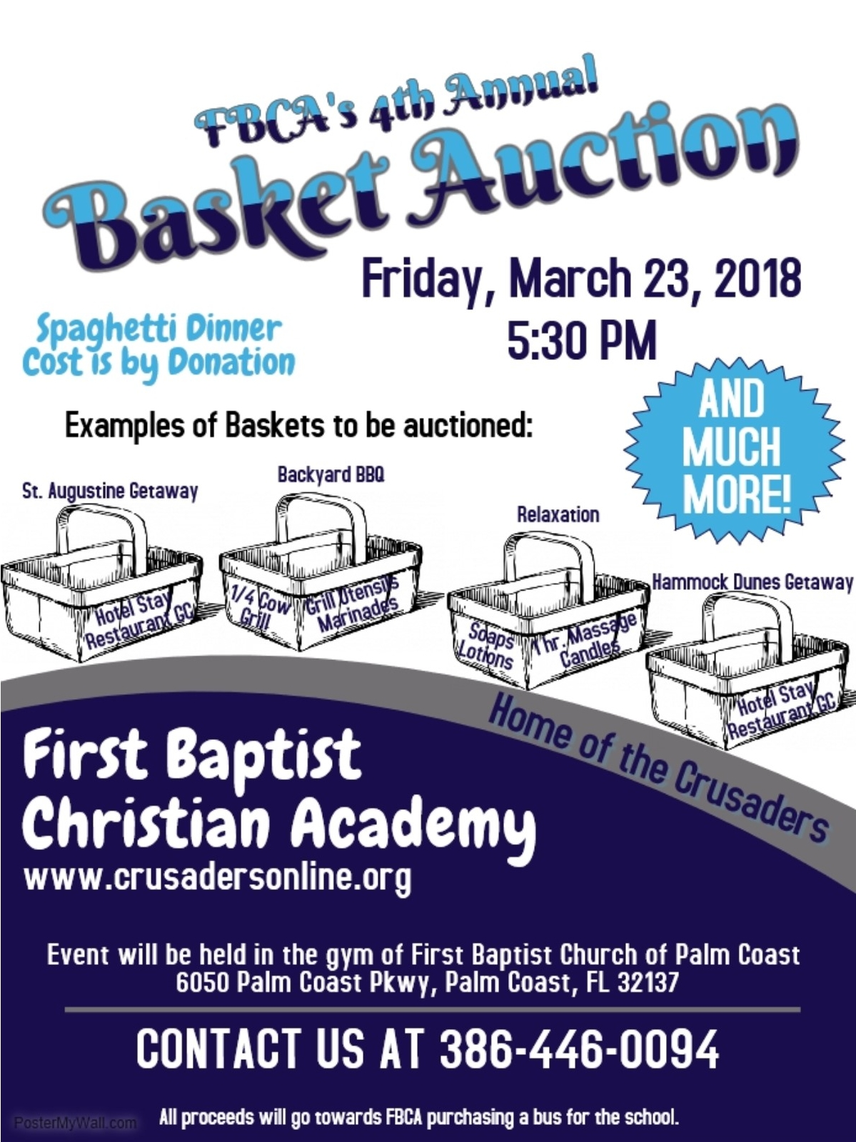 Basket Auction/Spaghetti Dinner